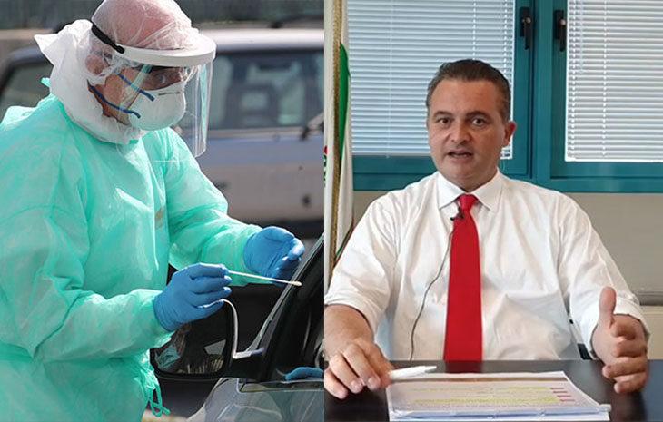 """Coronavirus, troppi focolai, giro di vite in Regione. Donini: """"Tamponi per chi torna da fuori Ue e per chi lavora nelle spedizioni e nei macelli"""""""