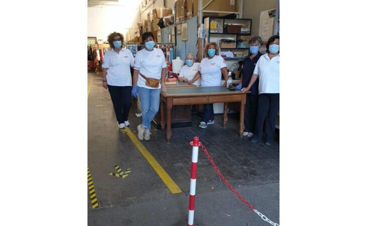 Riapre il mercatino di solidarietà della Croce rossa a Imola