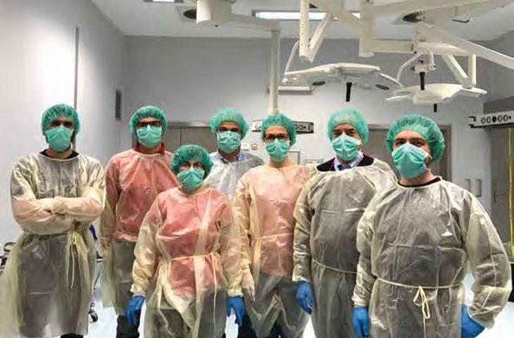 A Ozzano il laboratorio che testa le mascherine