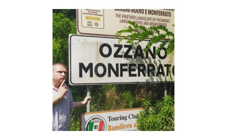Il sindaco Lelli dall'Emilia al Piemonte per raggiungere l'altra Ozzano