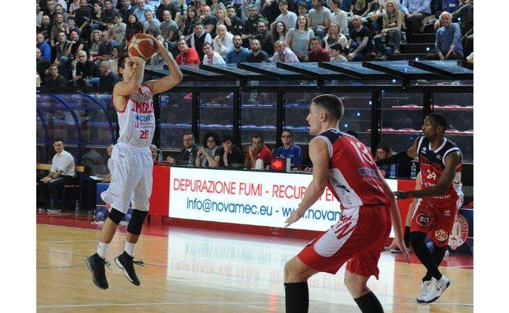 Basket serie B, la guardia Davide Toffali ritorna all'Andrea Costa