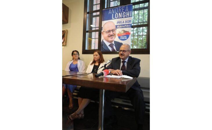 Elezioni comunali a Imola,  Andrea Longhi candidato sindaco con la lista civica «Imola Valori Comuni»