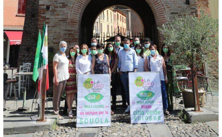 Elezioni comunali a Imola, presentata la lista Imola Futuro-Europa Verde a sostegno del candidato sindaco Panieri