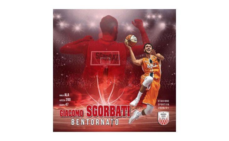 Basket serie B, Giacomo «Jack» Sgorbati torna a vestire i colori dell'Andrea Costa