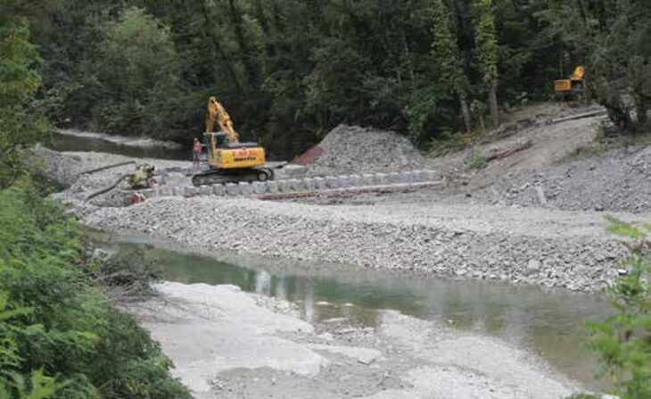 Ciclopista Santerno, i lavori sono ripresi, ma il Circondario ha chiesto alcune varianti migliorative