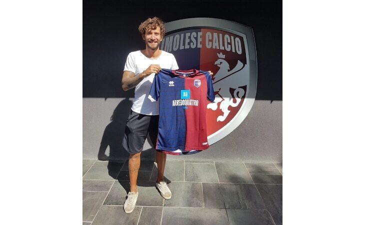Calcio serie C, l'Imolese e il difensore Filippo Boccardi avanti ancora insieme