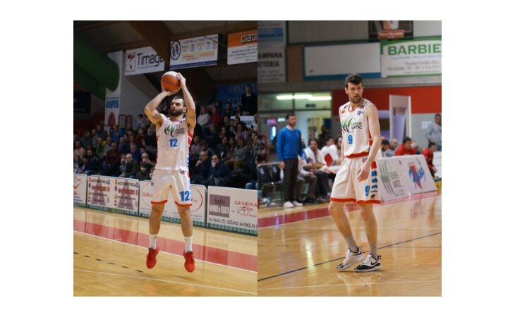 Basket serie B, la coppia imolese Corcelli-Morara firma per l'Andrea Costa