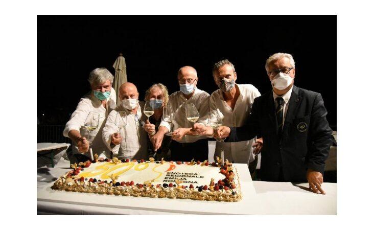 Enoteca Regionale Emilia Romagna festeggia il mezzo secolo di attività