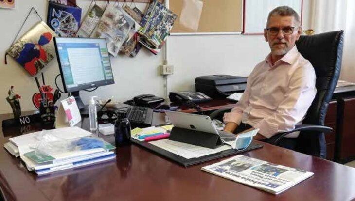 Il dirigente dell'istituto alberghiero Scappi di Castel San Pietro: «Stiamo lavorando per ripartire in presenza e in sicurezza»