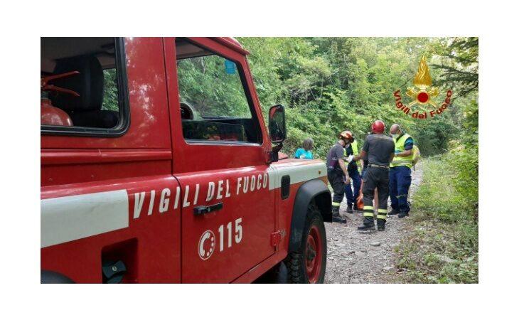 Si fa male durante un'escursione a Moraduccio, donna portata in ospedale