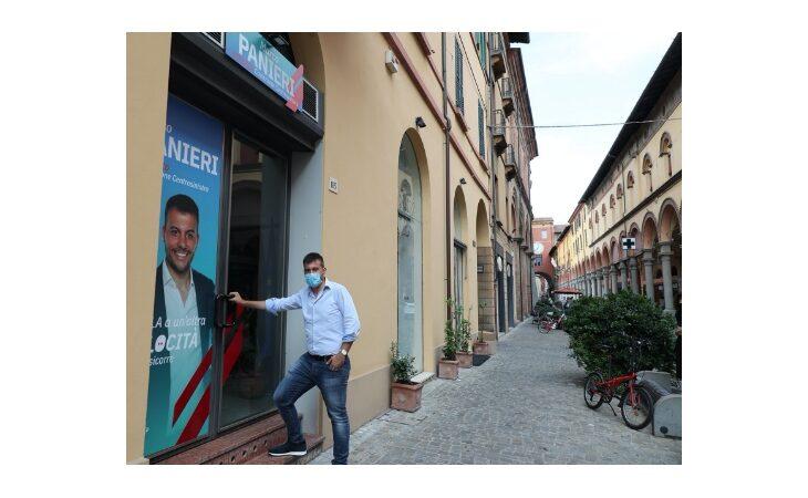 #Imola2020, inaugurazione della sede elettorale del candidato sindaco Marco Panieri