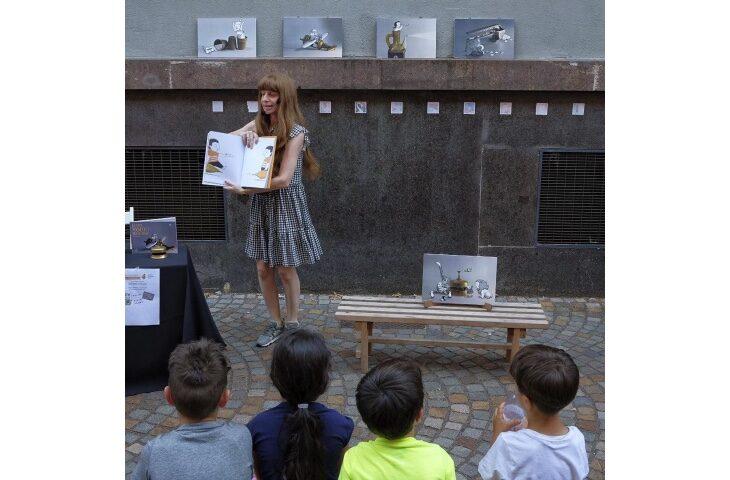 """Cesenatico, l'illustratrice Marianna Balducci presenta l'albo Bacchilega Junior """"Io sono foglia'"""