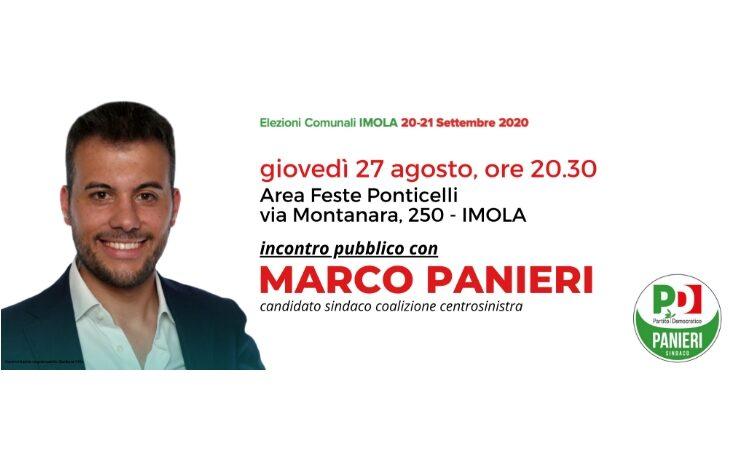 #Imola2020, a Ponticelli incontro pubblico con il candidato Panieri: «Le frazioni al centro del nostro progetto per la città»