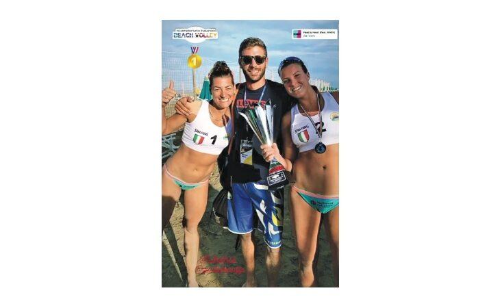 Beach volley, sulla spiaggia di Caorle tricolore per la guelfese Giada Benazzi