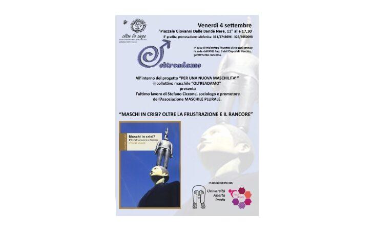 Il collettivo Oltreadamo presenta l'ultimo libro del sociologo Stefano Ciccone
