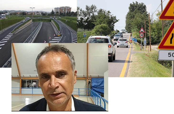"""L'assessore regionale Andrea Corsini """"fiducioso' su iter e finanziamenti per Bretella e Trasversale di pianura"""