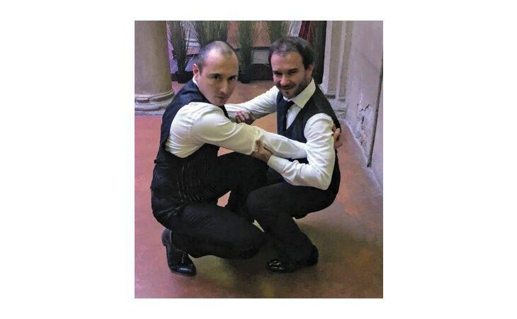 La polka chinata degli ozzanesi Antonio Clemente e Loris Brini nel docu-film della Sgarbi alla Mostra del cinema di Venezia