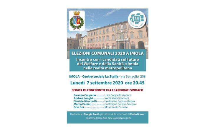 #Imola2020, Welfare e sanità imolese al centro dell'incontro alla Stalla con i candidati sindaco