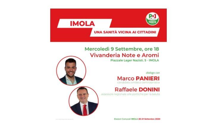 #Imola2020, Panieri incontra l'assessore regionale Donini per fare il punto sulla sanità imolese