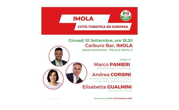 #Imola2020, Panieri dialoga con l'assessore regionale al turismo Corsini e l'eurodeputata Gualmini