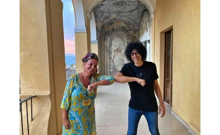 «Fiammetta tour», concluso il viaggio al sud dell'artista imolese Cinzia Neri Ravaglia: «Persone e luoghi straordinari»