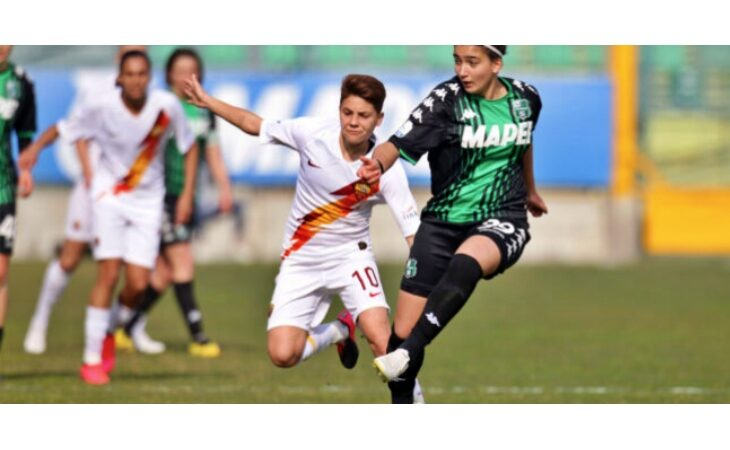 Calcio femminile, l'ex Osteria Grande Veronica Battelani «riscattata» dal Sassuolo di serie A