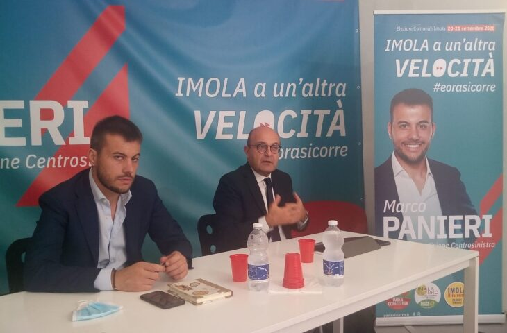 Il viceministro Misiani a Imola per sostenere Panieri: «Imola può tornare protagonista»