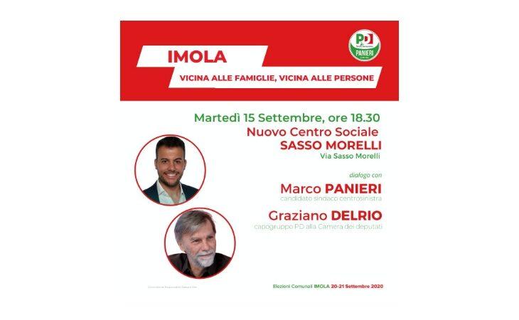 #Imola2020, a Sasso Morelli si parla di welfare e famiglie con Marco Panieri e Graziano Delrio