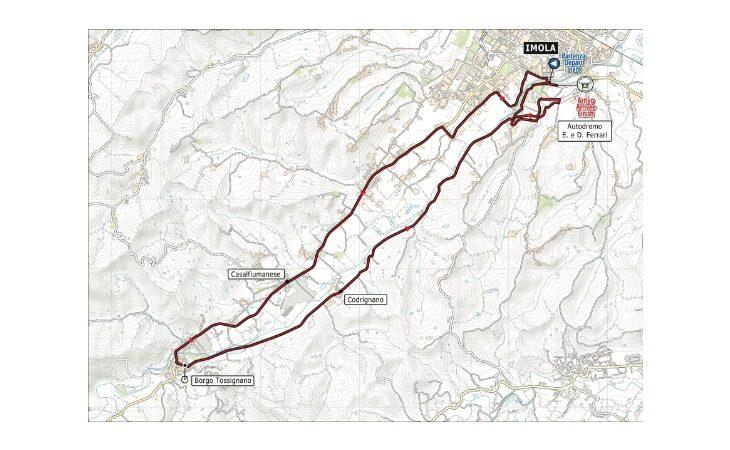 Mondiali di ciclismo a Imola, fissati gli orari di chiusura delle strade al traffico per le gare a cronometro