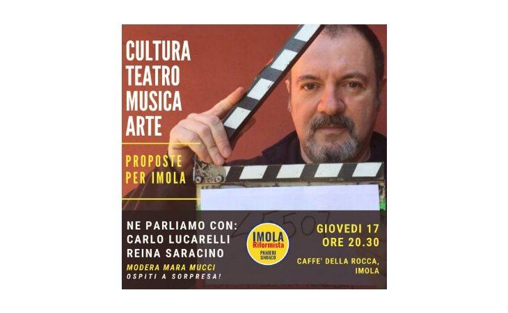 #Imola2020, lo scrittore Carlo Lucarelli all'appuntamento elettorale «Cultura, teatro, musica e arte ad Imola»