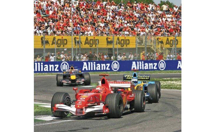 Il Comune di Imola lancia il concorso «Formula Uno in vetrina»