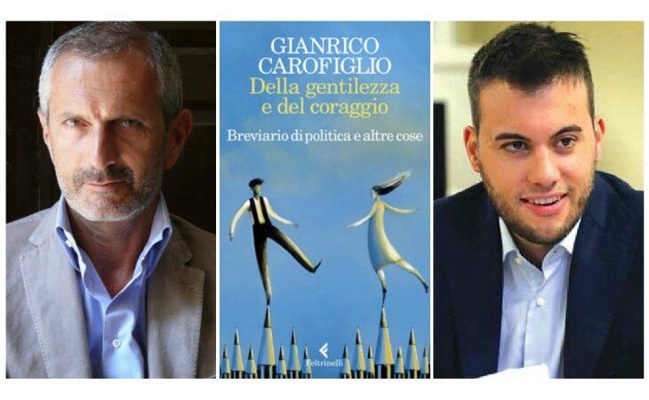 #Imola2020, lo scrittore ed ex magistrato Gianrico Carofiglio presenta il suo nuovo libro con il candidato Panieri