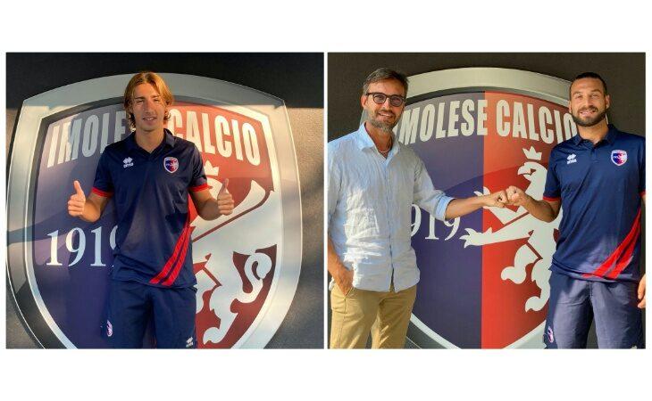 Calcio serie C, doppio colpo in difesa per l'Imolese: ingaggiati Cerretti e Rondanini