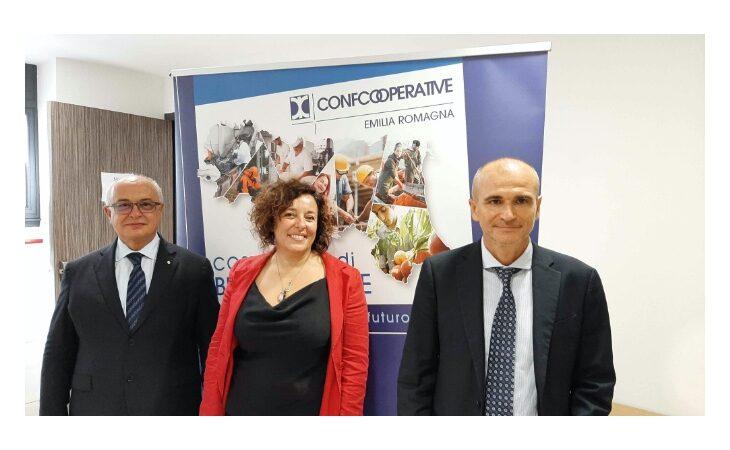 Eletti i tre nuovi vicepresidenti di Confcooperative Emilia Romagna