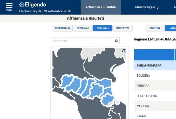 Amministrative 2020, in regione si eleggono 15 sindaci, la città più grande al voto è Imola