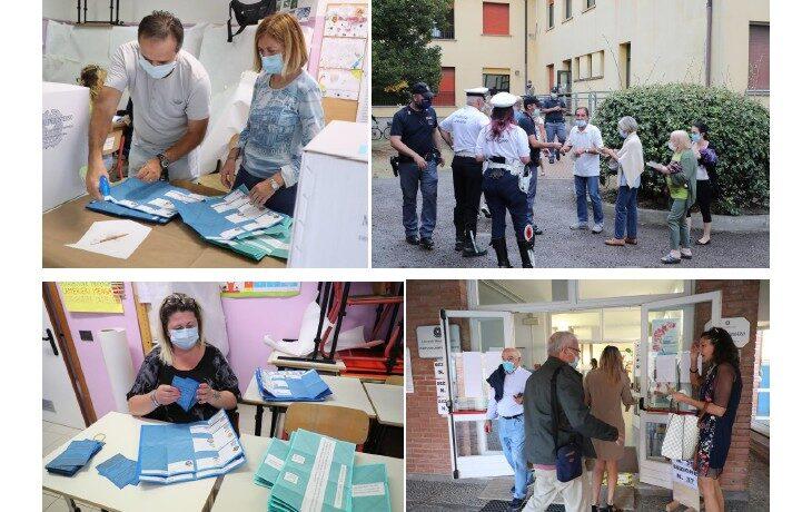 Elezioni 2020, a Imola hanno votato alle 19 quasi 24 mila elettori. Al refendum media circondariale al 34,3%