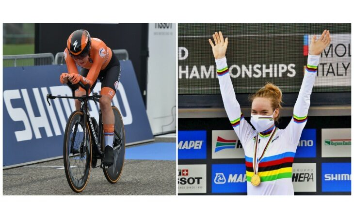Mondiali di ciclismo «Imola 2020», l'olandese Anna van der Breggen vince l'oro nella crono donne