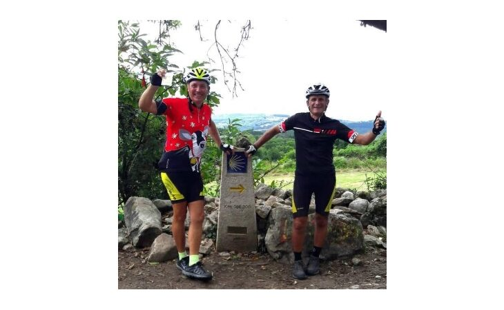 Da Borgo a Santiago a pedali, il racconto di Bruno e Roberto… senza freni