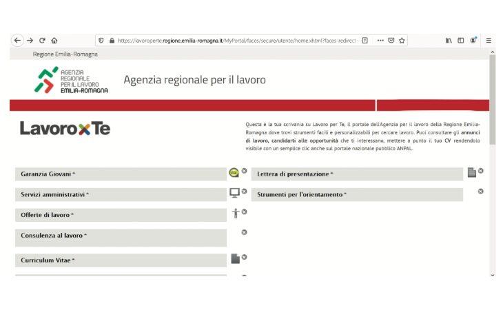 Centri per l'impiego, domanda e offerta si trasferiscono online sul portale regionale «Lavoro per te»