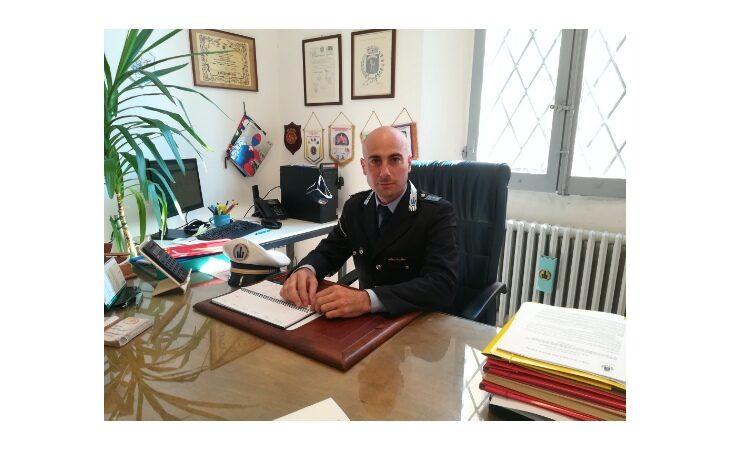 Il comandante Leonardo Marocchi e la «Campagna» della polizia locale di Castello: «Più pattuglie in strada fanno crescere la sicurezza»