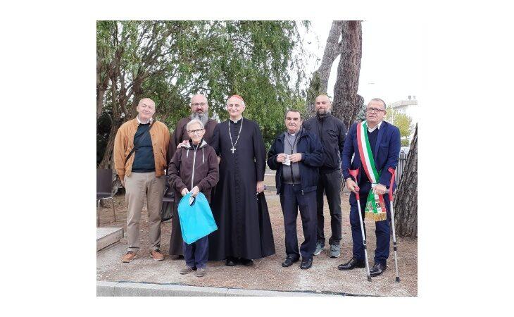 Il cardinale Zuppi ha inaugurato la Casa di accoglienza Caritas di Castel San Pietro