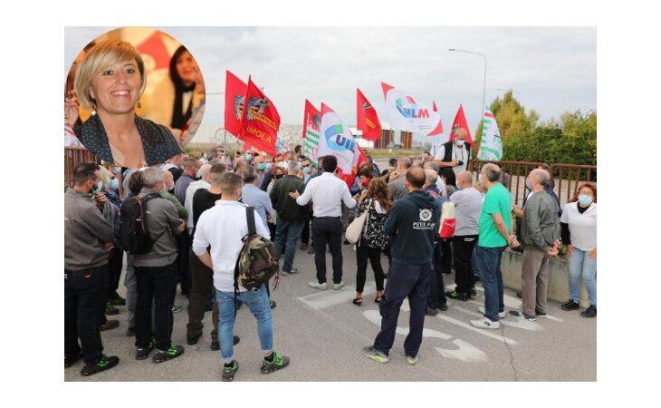 Sciopero Cefla, solidarietà del Pd ai lavoratori. Francesca Marchetti: «Faremo il possibile per sollecitare a trovare soluzioni condivise»
