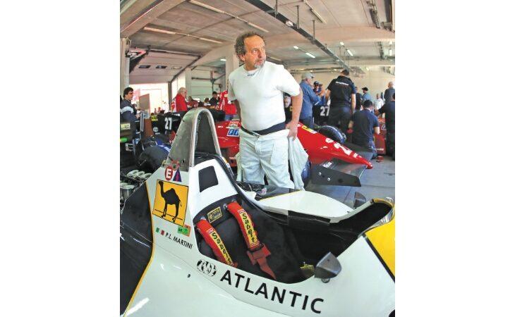 Aspettando il Gp a Imola, l'ex pilota Pierluigi Martini: «Abito vicino alla pista, vedrò la gara alla Rivazza»