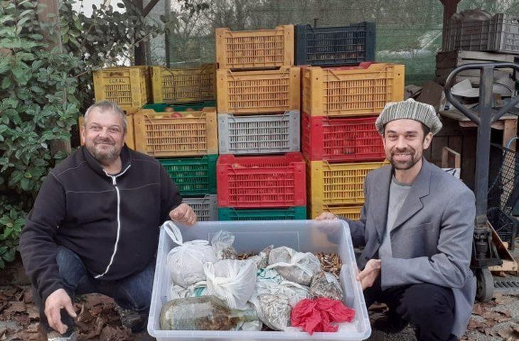 Torna la campagna «Per un pugno di mozziconi», mele in cambio di cicche di sigarette