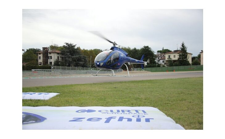 Zefhir, l'elicottero di Curti è pronto per decollare sul mercato