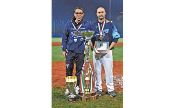 Baseball, Alex Bassani e Vanni Pedrini ancora sul trono d'Italia con la Fortitudo Bologna