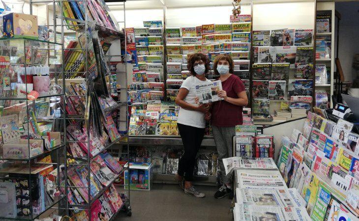 «Un salto in edicola» incontra al centro Medicì le sorelle «Nonsologiornalaie»