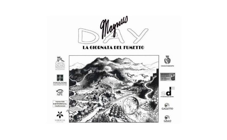 A Castel del Rio «La giornata del fumetto» con il Magnus Day