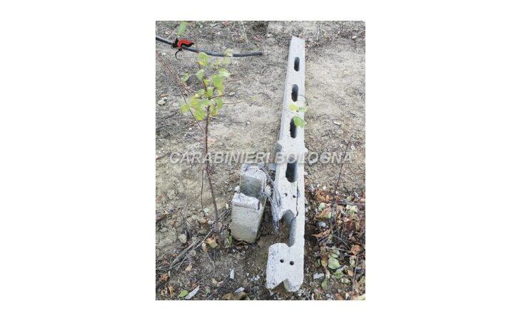 Colpito da un palo di cemento mentre lavora nel campo, grave 75enne