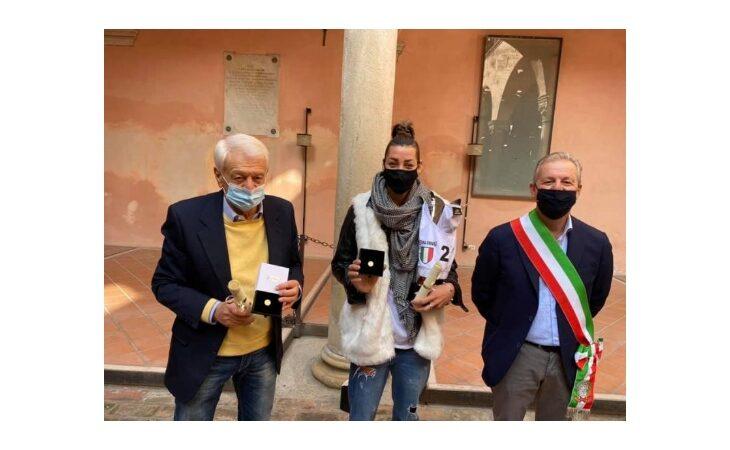 Castel Guelfo festeggia la campionessa italiana di beach volley Giada Benazzi